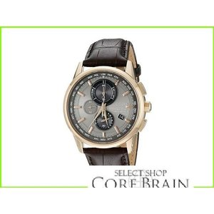 Citizen Watches AT8113-04H World Chronograph A-T シチズン Fashion Tone メンズ Rose Steel 一部予約 Stainless WEB限定 MEN Gold