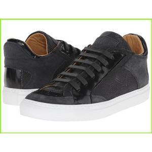 MM6 Maison Margiela アウトレットセール 特集 Metallic Crackle Low Top Sneaker Sneakers 新着セール Grey Dark amp; WOMEN Shoes Black Athletic レディース