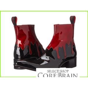 並行輸入品 Jeffery-West Rochester Boots MEN Red Black メンズ お買い得品