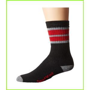 <title>Smartwool Striped Hike 店 Medium Crew Socks MEN メンズ Black Light Gray</title>