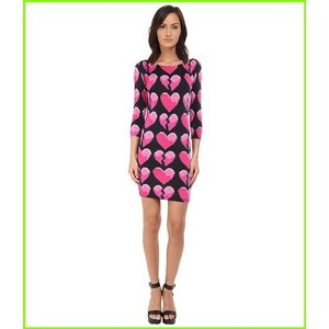 Philipp Plein バースデー 記念日 ギフト 贈物 お勧め 通販 Heart 日本製 Dress Dresses レディース WOMEN Black Pink
