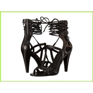 Sigerson Morrison Melody シガーソンモリソン 安心の定価販売 Heels 日本全国 送料無料 Leather Black レディース WOMEN