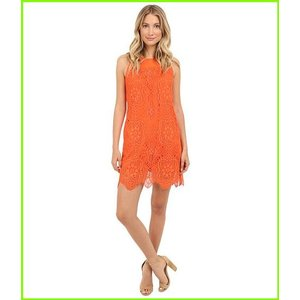 人気商品 Trina Turk Emerson Dress 買収 Dresses WOMEN Scorpio レディース Orange