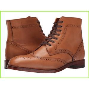 Crosby Square Knightsbridge Boots メンズ Leather MEN Tobacco 当店は最高な サービスを提供します 特売