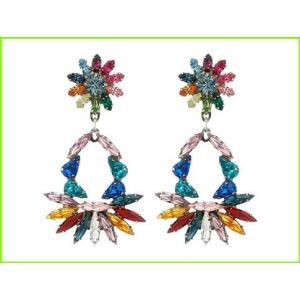驚きの値段で DANNIJO CABELLA Earrings Drop Multi 完売 WOMEN レディース