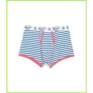 Original Penguin Single Trunk 卸売り Underwear MEN Directoire Match 情熱セール メンズ Stripe Blue