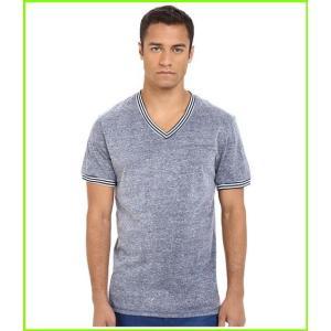 <title>Original Penguin 公式サイト V-Neck Short Sleeve T Shirts MEN メンズ Dark Denim</title>