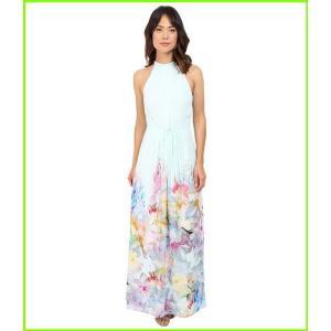 Ted Baker 宅配便送料無料 Ellore Hanging Gardens Border レディース WOMEN Maxi 特別セール品 Dresses Mint