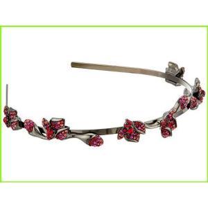 Oscar de 捧呈 la Renta Gradient Crystal Flower 秀逸 Head オスカーデラレンタ WOMEN Bands レディース Headband Poppy
