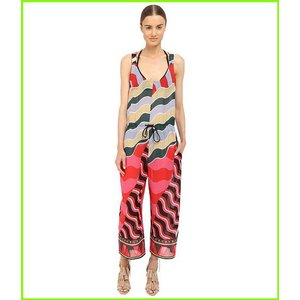 M 期間限定特価品 Missoni Stripe Jumpsuit Cover-Up エムミッソーニ レディース Black WOMEN 送料無料限定セール中 Ups Cover
