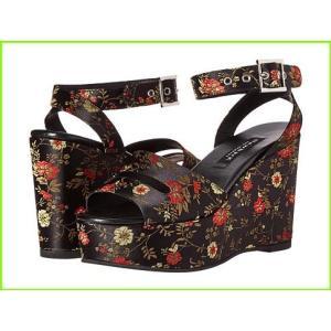 NewbarK 信憑 Maggie Wedge Sandals WOMEN セール商品 レディース Chinese Floral Print