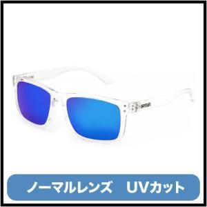偏光なしノーマルレンズ サーフィン ビーチ UV マリンスポーツ|1872-GOBLIN GLOSS CRYSTAL CLEAR/BLUE NON-POLARIZED IRIDIUM|coresurf