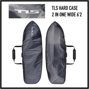 サーフボードケース ハードケース ボードケース サーフィン |TLS HARD CASE 2 IN ONE WIDE 6'2|coresurf