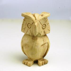 【再入荷】パロサント フクロウ(カービング) 天然香木 木彫り ふくろう|cornucopia