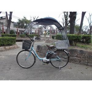 電動自転車、子供のせ等に風よけ、雨除け日よけ屋根(電動用、2重)ニューギャラG|coropokkuru|02