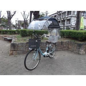 電動自転車、子供のせ等に風よけ、雨除け日よけ屋根(電動用、2重)ニューギャラG|coropokkuru|03