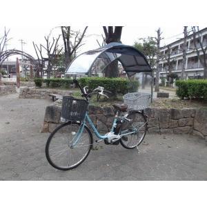 電動自転車、子供のせ等に風よけ、雨除け日よけ屋根(電動用、2重)ニューギャラG|coropokkuru|04