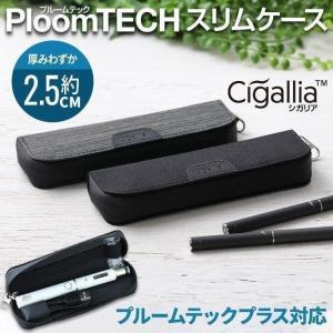 Cigallia(シガリア) Clothケース 防滴 プルームテックケース プラス 対応 ケース 帆布生地 収納ポケット 3R SYSTEMS ブラックの商品画像|ナビ