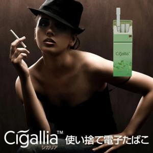 電子たばこ 本体 スターターキット 使い捨て 禁煙グッズ フレーバー ニコチン0 タール0 3本セット Cigallia シガリア|coroya