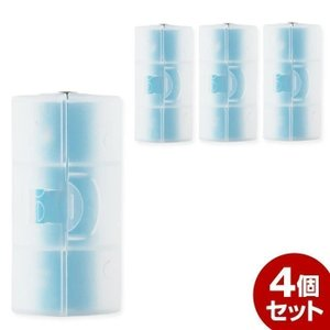単2 電池スペーサー 4個セット 単3が単2になる電池アダプター|coroya