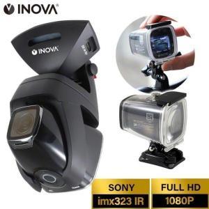 アクションカメラ バイク マウント 自転車 防水 IP67 ドライブレコーダー 24V 小型 駐車監...