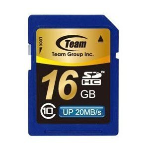 SDカード 16GB class10 秒速最大20MB TEAM