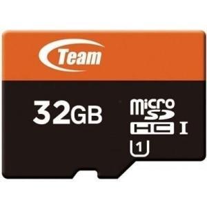 マイクロSDカード 32GB microSDカード ドライブレコーダー UHS-I対応 TEAM チーム SD変換アダプタ付 SDHC TUSDH32GUHS03|coroya