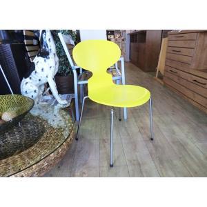 【FritzHansen】ANT chair 4本脚 イエロー correr