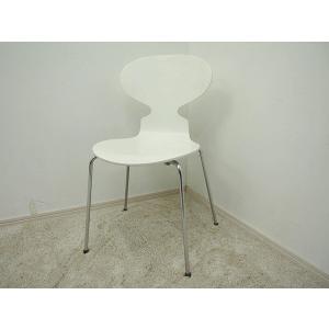 FritzHansen(フリッツハンセン)/ANT chair アリンコチェア 4本脚 ホワイト アルネ ヤコブセン|correr