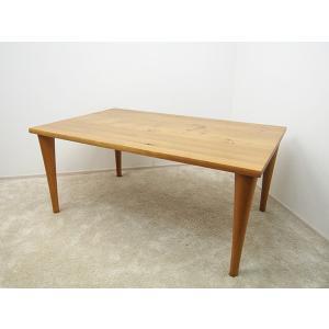 【飛騨産業】森のことば ダイニングテーブル W1600 キツツキマーク|correr