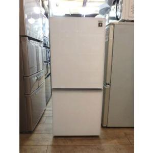 SHARP(シャープ)/ 冷凍冷蔵庫 SJ-GD14C-W クリアホワイト 137L 2017年製 / 美品|correr