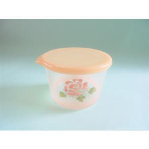 【マニーローズ】 ガラス テーブルキャニスター Sサイズ / 薔薇 保存 ピンク 日本製 corrette-anise