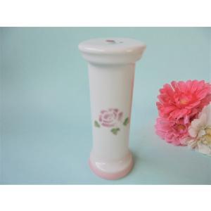 【マニーローズ】 サンドグラス 砂時計 / 陶器 ピンク 薔薇 corrette-anise