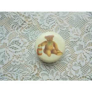 【マニー ベア】 マグネット / 日本製 クマ 磁石 文具 陶器|corrette-anise