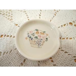 【マニー プロヴァンス】 スプーンレスト / 日本製 箸置き 花 フルーツ 陶器 corrette-anise