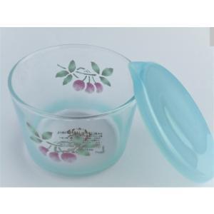 【マニー スリーズ・フランセーズ】 ガラス テーブルキャニスターSサイズ / 日本製 チェリー さくらんぼ corrette-anise