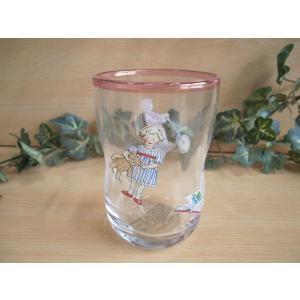 【マニー プチメゾン】 ガラス くびれタンブラーM / 日本製 コップ カップ|corrette-anise