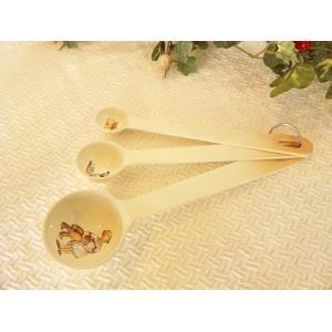 【マニー プチメゾン】 メジャースプーン / 日本製 陶器 計量スプーン|corrette-anise