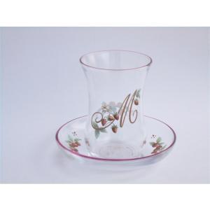 【商品詳細】 ●サイズ:グラス直径5.7cm 高さ8.3cm 皿直径10.1cm 高さ2.9cm ●...