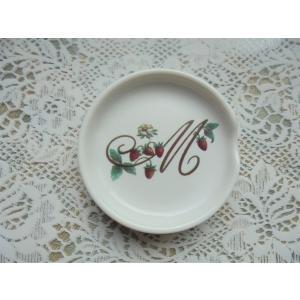 【マニー レールデュロココ】 スプーンレスト / 丸 陶器 箸置き M ベリー|corrette-anise