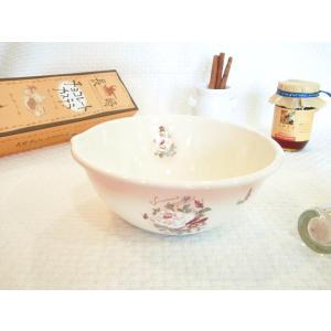【マニー ダミティエ】 ホーロー クッキングボウルS / 日本製 薔薇 パンジー ボール|corrette-anise