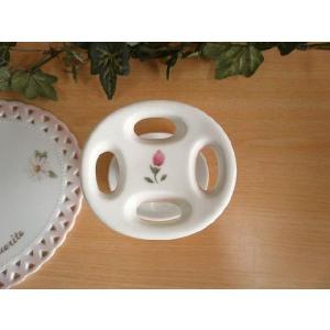 【マニーローズ】 BG 歯ブラシスタンド / 日本製 薔薇 歯磨き バラ柄 花柄 ピンク|corrette-anise|02