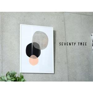 ポスター 北欧 セブンティ ツリー SEVENTY TREE インテリア ポスター CIRCLES サークル A3サイズ(29.7×42cm) ギフト|cortina