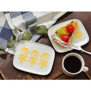 マリメッコ プレート ヴィヒキルース ヴィキルース 北欧 イエロー お皿 marimekko VIHKIRUUSU バラ ウエディングローズ 北欧食器 ギフト|cortina