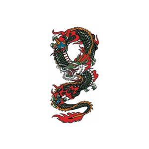 タトゥーシール ドラゴン2|coscommu