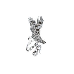 タトゥーシール 鷲と蛇|coscommu