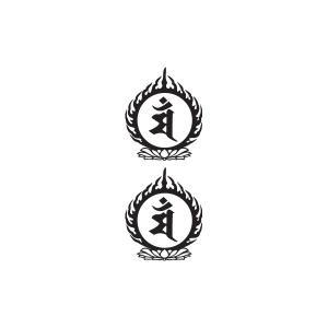 タトゥーシール 文殊菩薩|coscommu