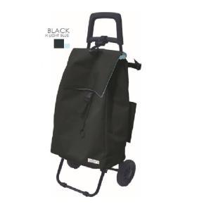 レップCOCORO(コ・コロ)ショッピングカートプレーンベーシックブラック coserekuto