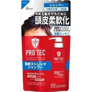 PRO TEC 頭皮ストレッチシャンプー つめかえ用 230g(230G)