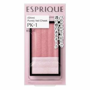 コーセー エスプリーク  ピュアリーベール チーク PK-1 メール便対応商品 送料185円